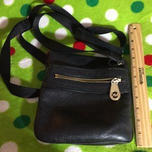 Black MK crossbody bag